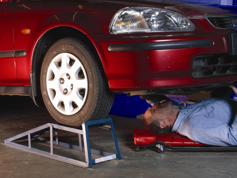 Under Your Car Diy Vehicle Maintenance Product Safety Australia